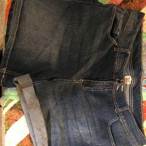women's plus size Jean shorts